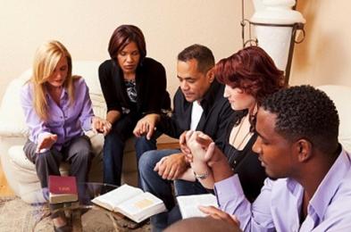 Small-Group praying